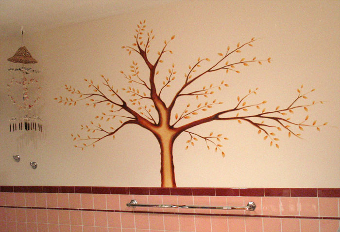 Family Tree Wall Mural   Thibaut Wallpaper Free Download